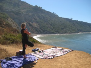 Yoga Hike Palos Verdes Oct.08