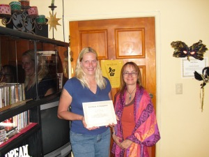Reiki II Training & Attunement, April 2010
